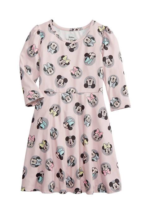 Toddler Girls Long Sleeve Jersey Dress
