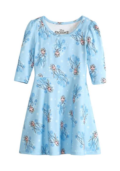 Disney® Frozen 2 Toddler Girls Long Sleeve Jersey