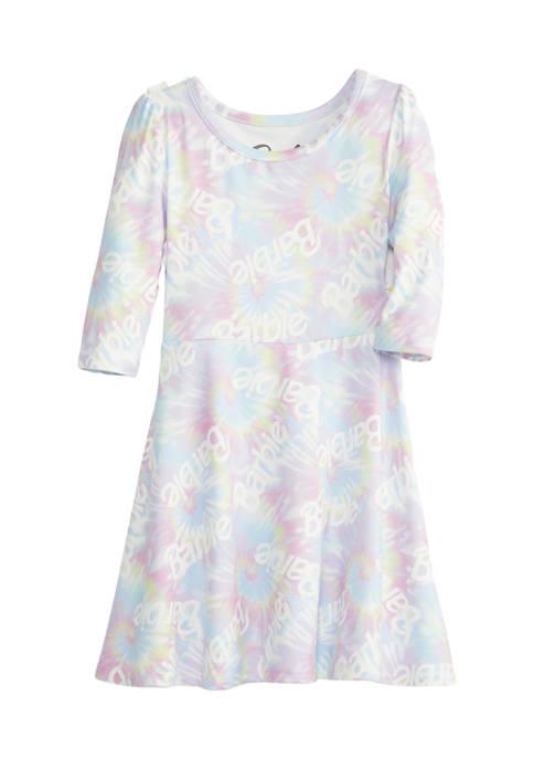 Barbie Toddler Girls 3/4 Sleeve Jersey Dress