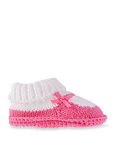 Carter's® Mary Jane Knit Booties