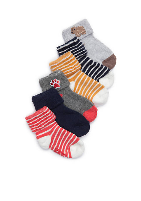 Carter's® 6-Pack Terry Cuff Socks