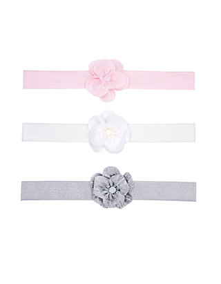 16808473f Carter's® 3-Pack Flower Headwraps   belk