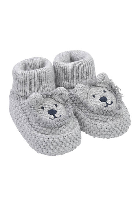 Carter's® Infant Lion Knit Booties