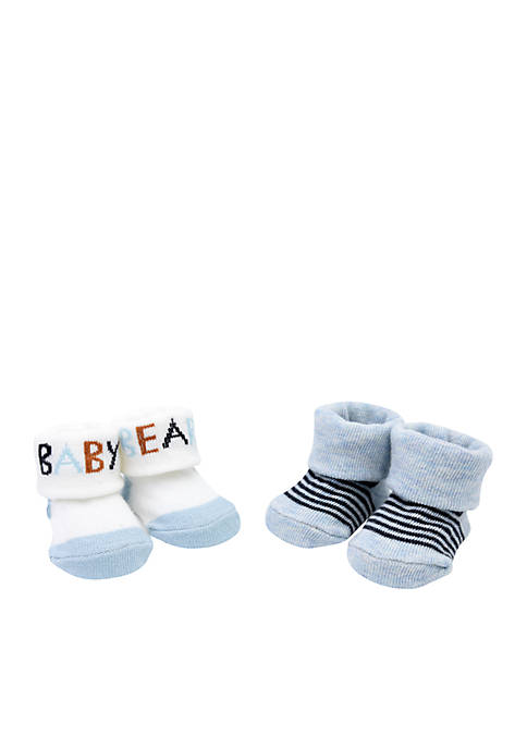 Carter's® Boys Infant Baby Bear Booties