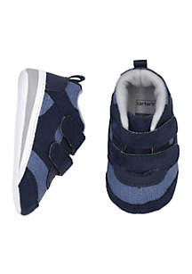 Baby Boys Chambray Sneaker Shoes