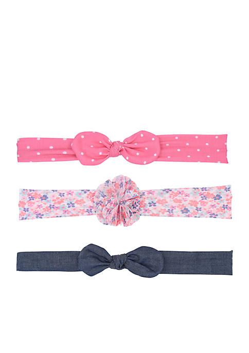 Carter's® Baby Girls Headwraps