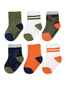Baby Boys Camo Sock Set