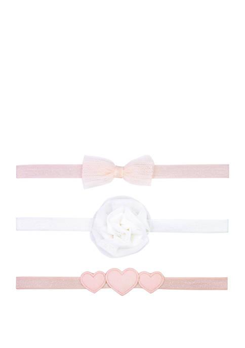 Carter's® Baby Girls 3 Pack Headwrap Set