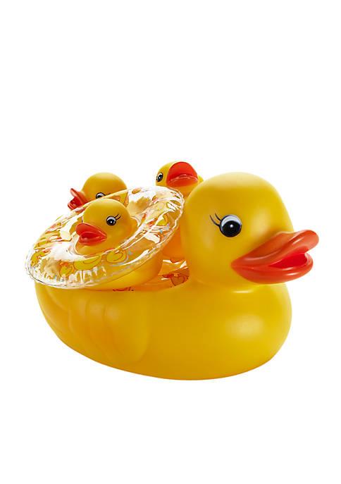 Elegant Baby Duck Bath Set
