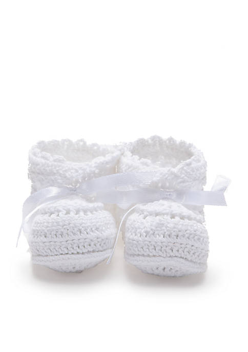 Elegant Baby Crochet Booties