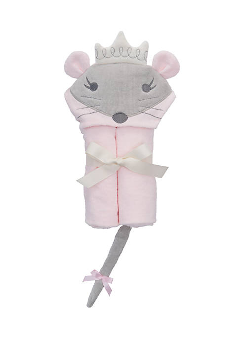 Elegant Baby Princess Mousie Baby Bath Wrap