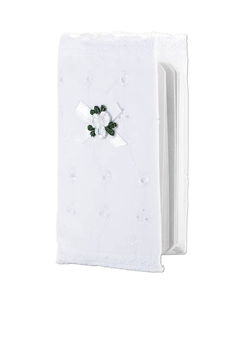 Eyelet Covered Bible