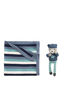Elegant Baby Baby Boys Bear Gift Set