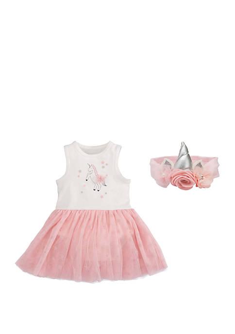 Elegant Baby Baby Girls Unicorn Tutu Gift Set
