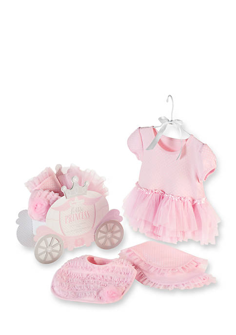 Baby Aspen™ Three-Piece Little Princess Carriage Gift Set