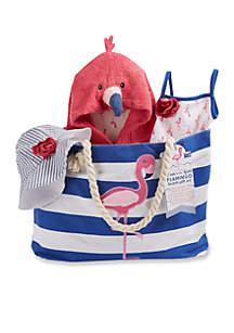 Baby Aspen™ Flamingo Four-Piece Nautical Gift Set