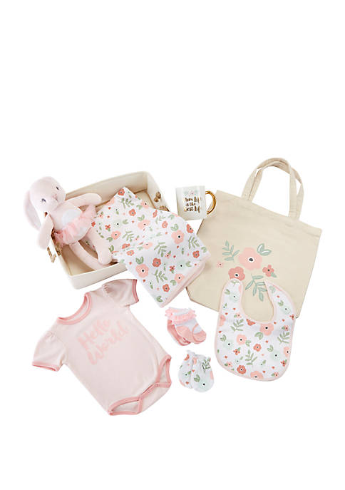 Baby Aspen™ Baby Fancy Floral 9-Piece Gift Set