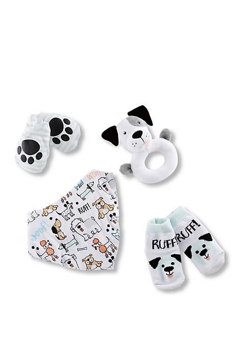Baby Aspen™ Puppy Love 4 Piece Gift Set