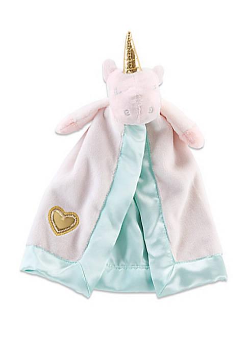 Baby Aspen™ Baby Girls Unicorn Plush Rattle Lovie