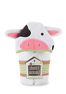 Baby Aspen™ Cow Spa Towel