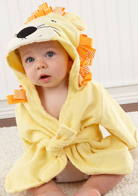 Baby Aspen™ Big Top Bath Time Lion Hooded