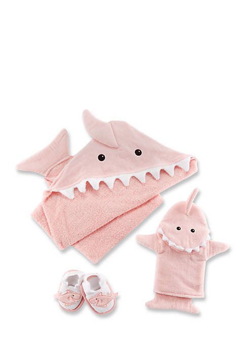 Let The Fin Begin Four-Piece Bath Time Gift Set