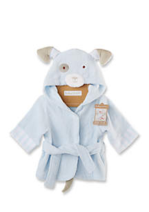 Bath Time Bow Wow Puppy Hooded Spa Robe