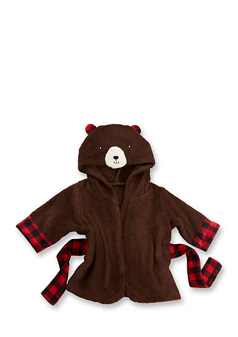Baby Aspen™ Beary Bundled Hooded Brown And Red