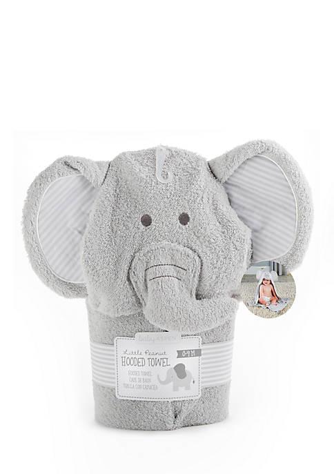 Baby Aspen™ Little Peanut Elephant Hooded Spa Towel
