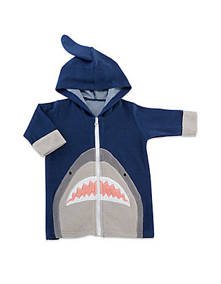 5d9248eaa0 Baby Aspen™. Baby Aspen™ Baby Shark Hooded Beach Zip Up