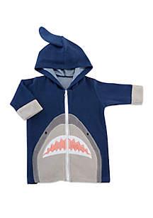 Baby Shark Hooded Beach Zip Up
