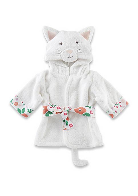 Baby Aspen™ Baby Girls Cat Hooded Robe