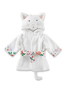 Baby Girls Cat Hooded Robe