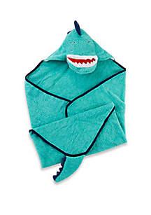 Dino T-Rex Baby Hooded Towel