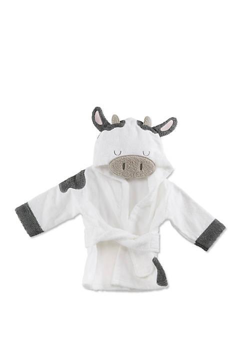 Baby Aspen™ Cow Hooded Robe