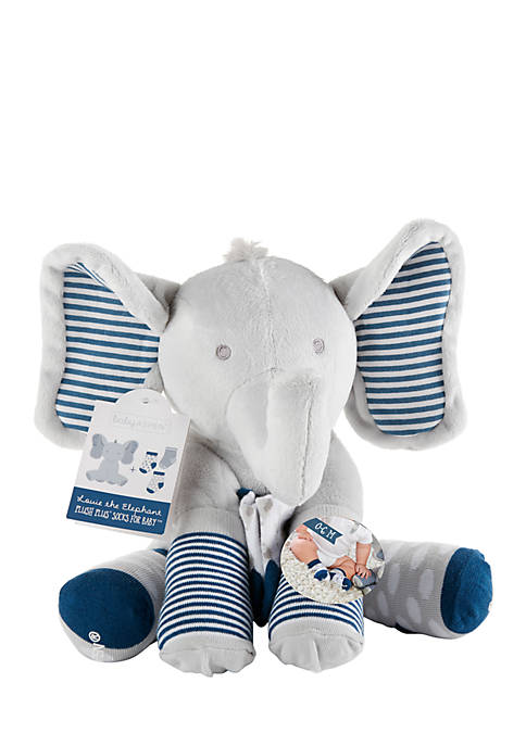 Baby Aspen™ Louie the Elephant Plus 3 Pairs