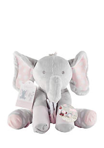 Baby Aspen™ Lilly the Elephant Plush Plus with Socks for Baby