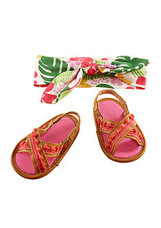 Baby Aspen™ Tropical Headband and Flip Flop Gift Set