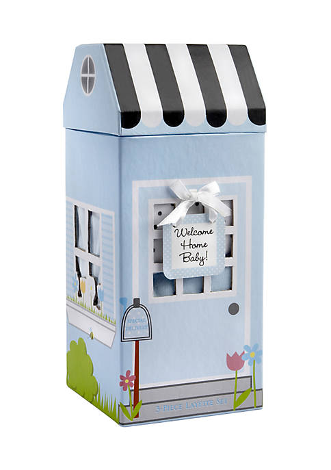 Baby Aspen™ Welcome Home 3 Pc Set-Blue