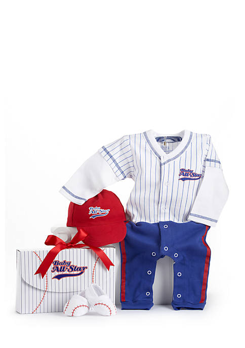 Baby Aspen™ Big Dreamzzz Baby Baseball Three-Piece Gift