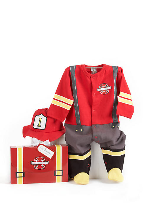 Baby Aspen™ Big Dreamzzz Baby Fire Fighter Two-Piece