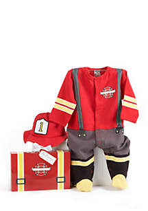 Big Dreamzzz Baby Fire Fighter Two-Piece Gift Set