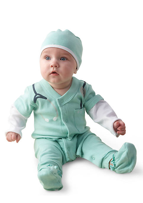 Baby Aspen™ Baby M.D. 3-Piece Set in Doctors
