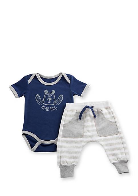 Baby Aspen™ Trendy Baby Bear Hug 2-Piece Set