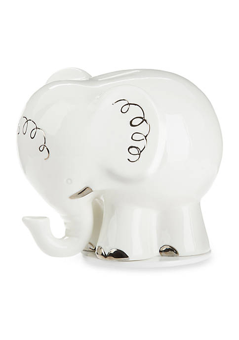 Baby Aspen™ Little Peanut Elephant Ceramic Bank