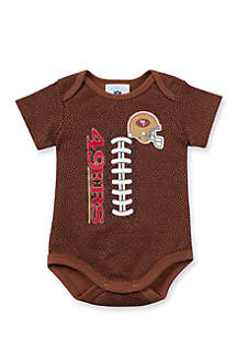 San Francisco 49ers Football Bodysuit
