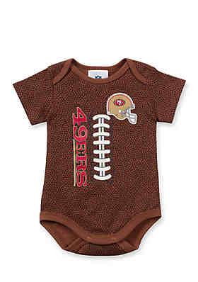Gerber San Francisco 49ers Football Bodysuit 05bebbfd4
