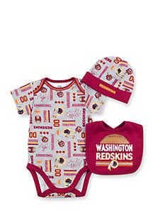 Washington Redskins 3-Piece Bodysuit Set
