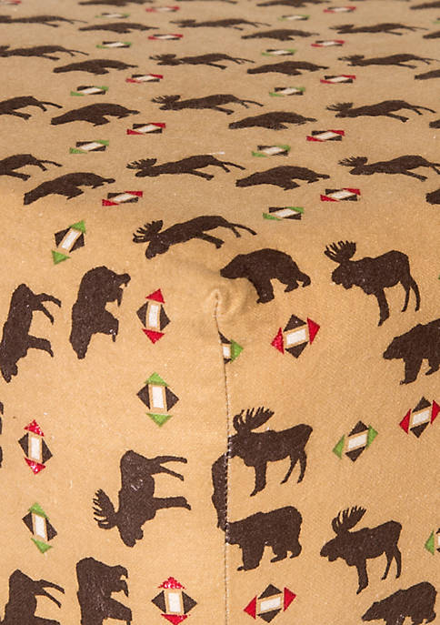 Northwoods Flannel Fitted Crib Sheet - Online Only