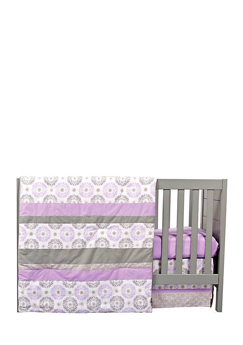 Trend Lab® Florence 3 Piece Crib Bedding Set